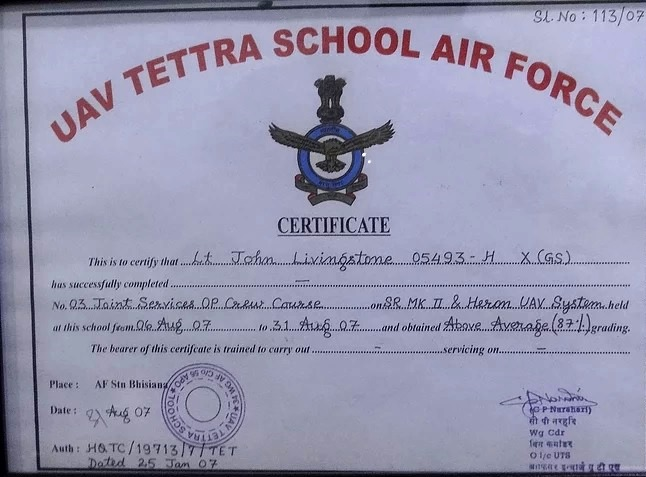 IID Instructor  Certificate
