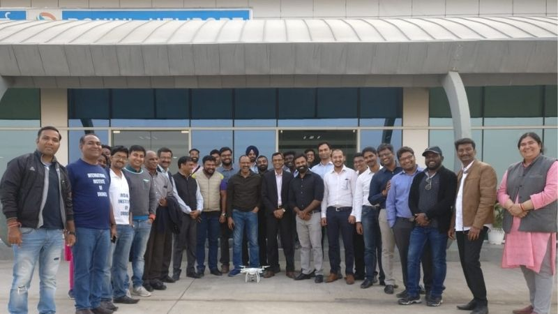 Multirotor Drone Pilot training By IID to all FTOs in India Organised by DGCA
